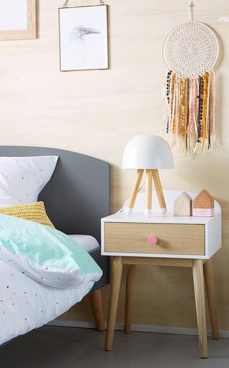 décoration table de chevet