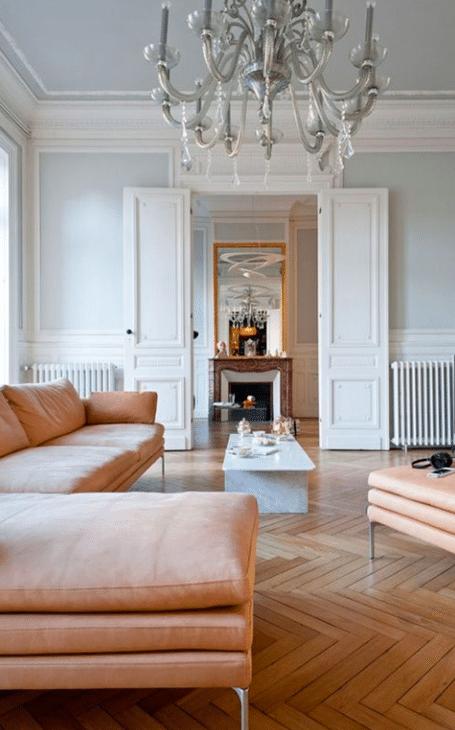 décoration française couleurs pastel