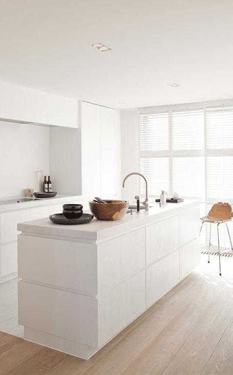 décoration minimaliste cuisine
