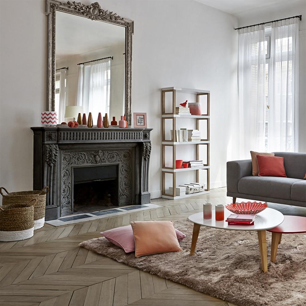 décoration salon cheminée
