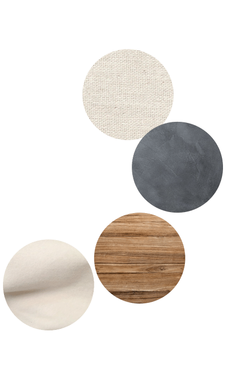 matières déco minimaliste