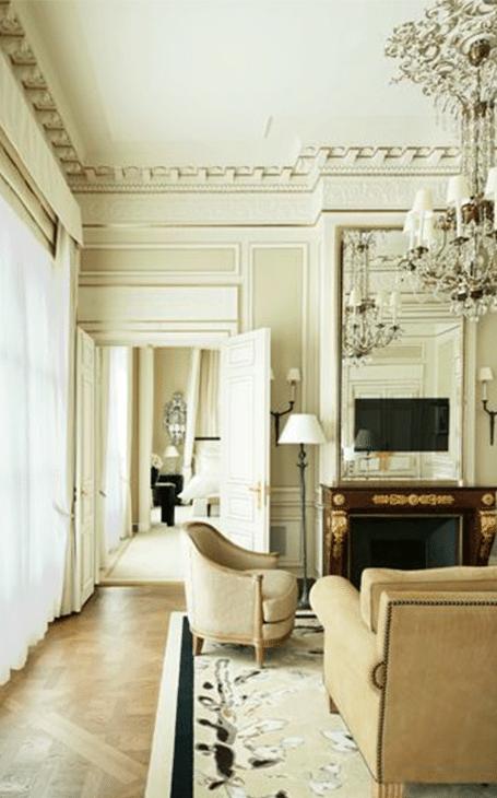 décoration française salon classique