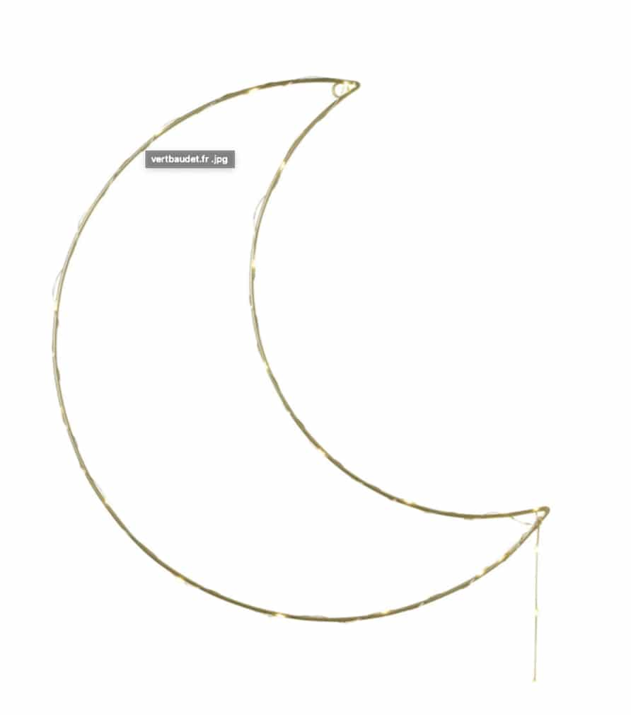 Déco murale lune
