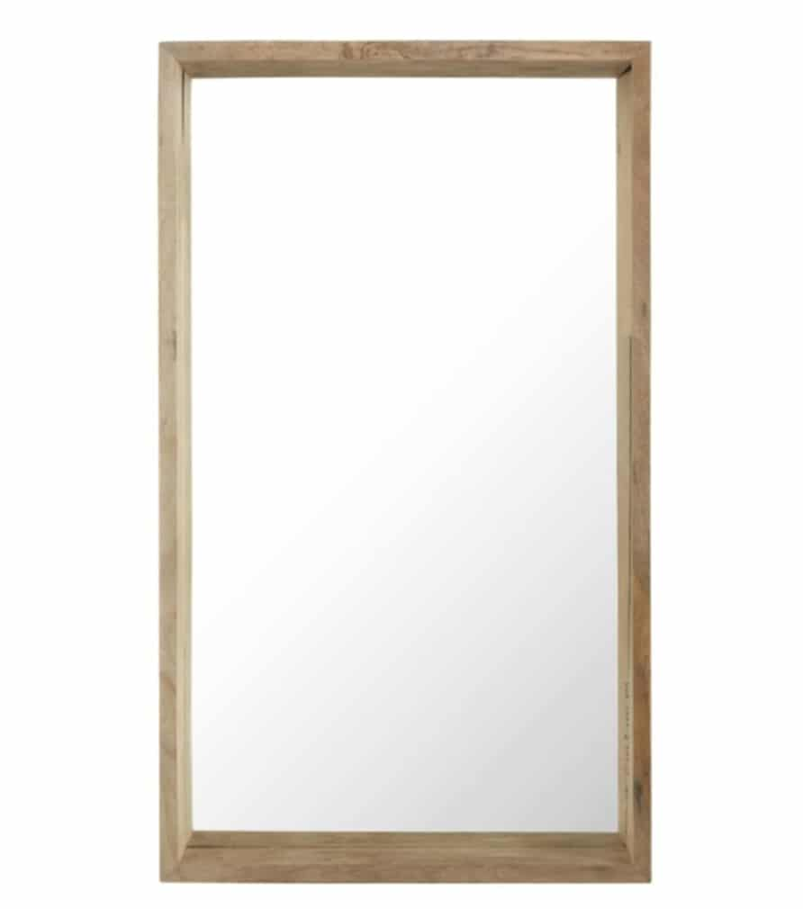 Miroir en manguier