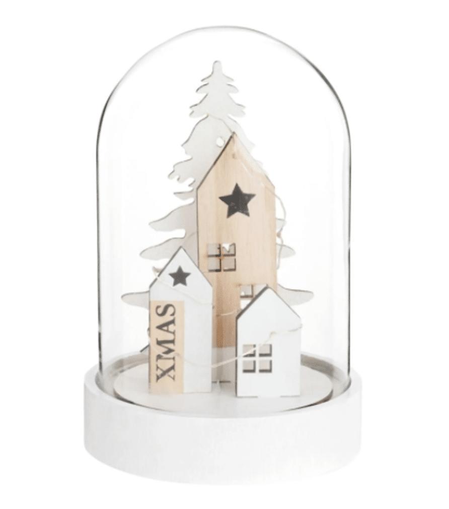 Cloche en verre Décor de Noël