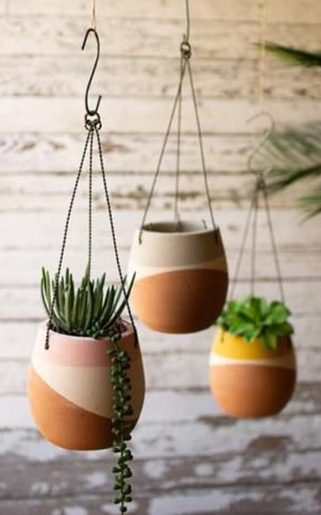 pots suspendus