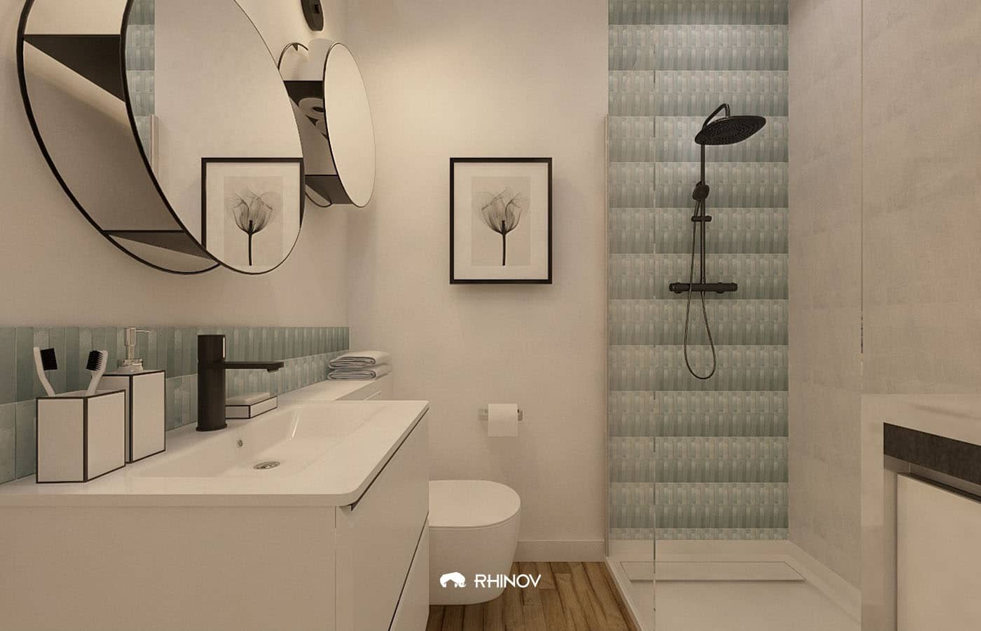 salle de bain déco