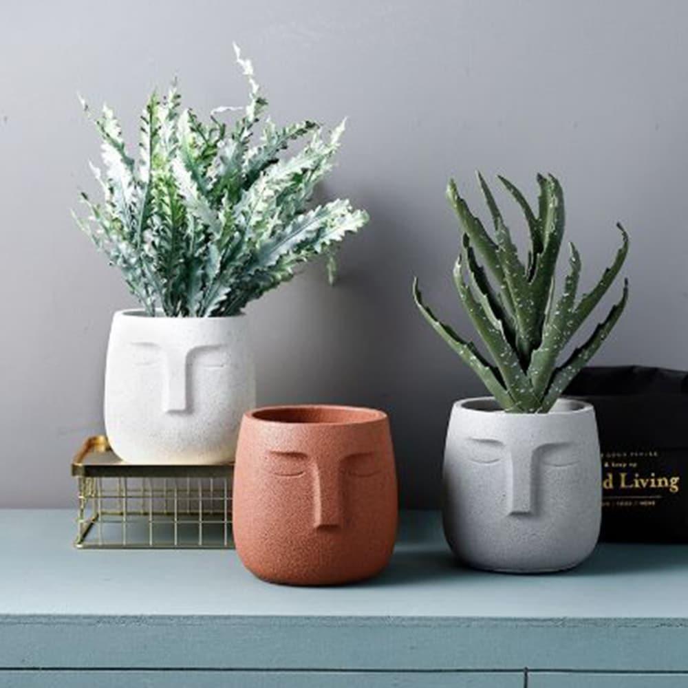 pot de fleurs céramique
