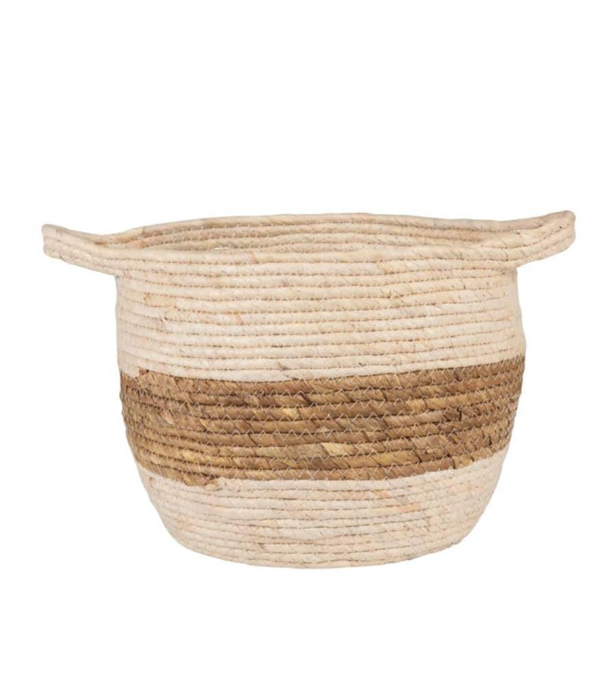 Panier en fibre de maïs