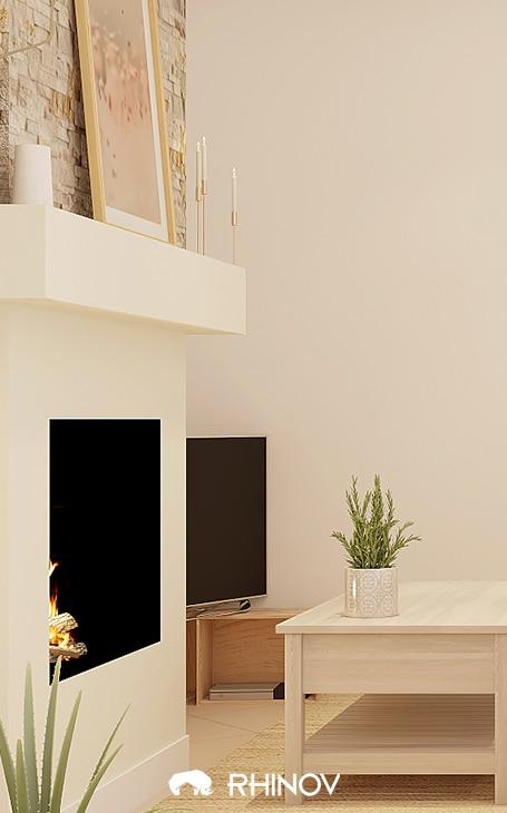 tv decoration charme