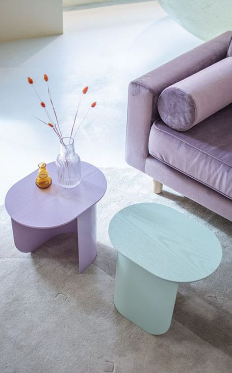 décoration moderne colorée