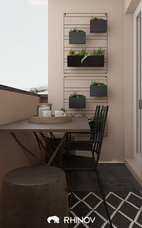 décoration terrasse extérieure moderne