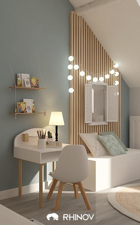 décoration géométrique chambre enfant