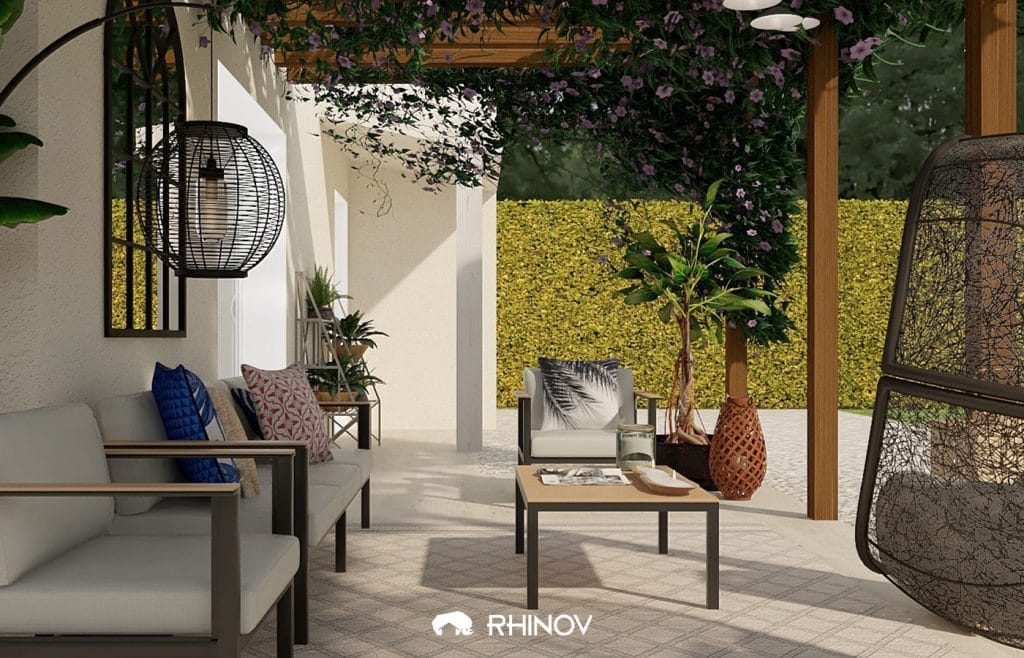 décoration terrasse moderne