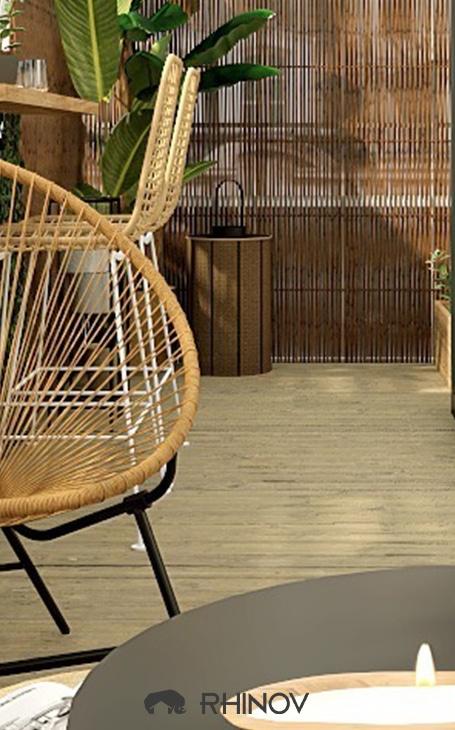 décoration sol terrasse