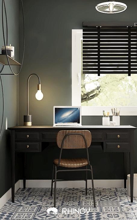 idée déco bureau moderne