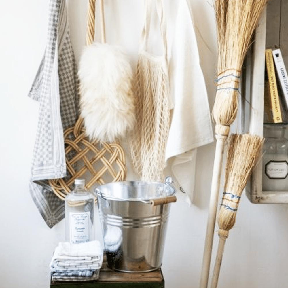 ménage de printemps : le matériel
