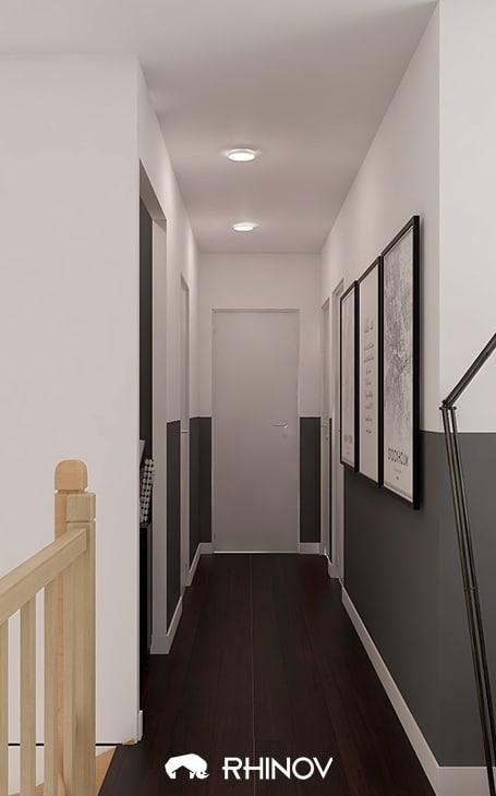 décoration couloir contemporain