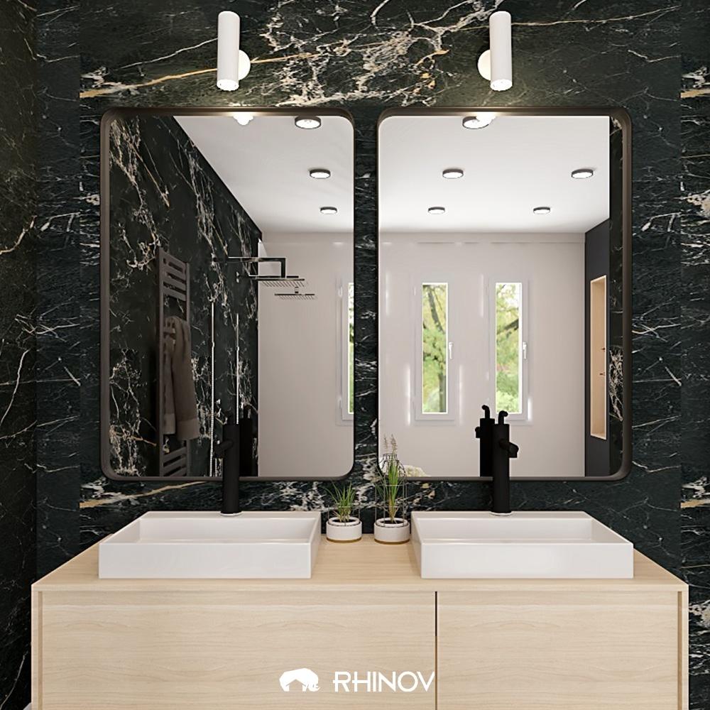 meuble déco salle de bain