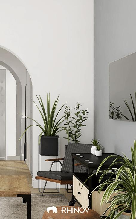 style urbain déco plantes