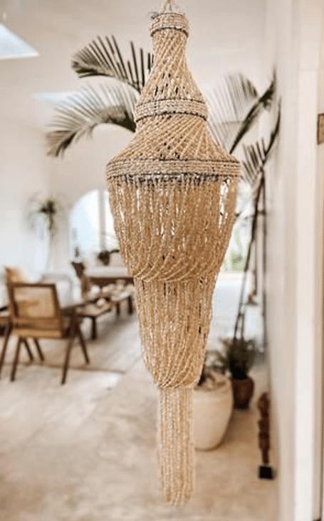 décoration coquillages exotique bali