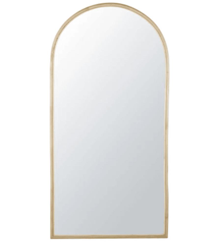 SOLINE Miroir rotin