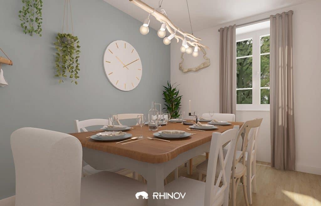 salle à manger décoration