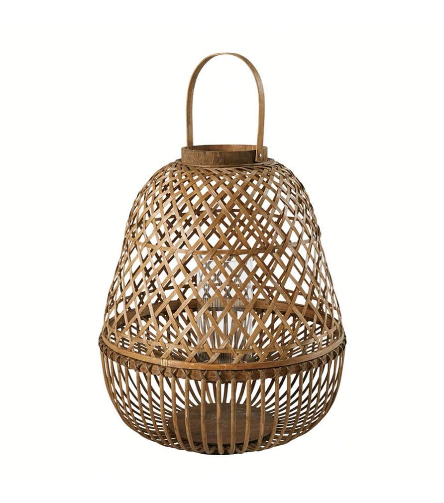PANAMA - Lanterne en bambou H64