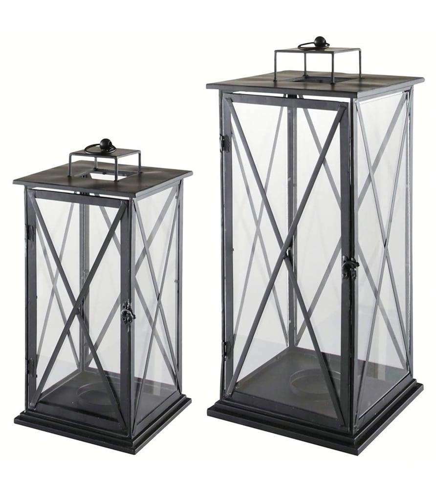 COMES - 2 lanternes en métal