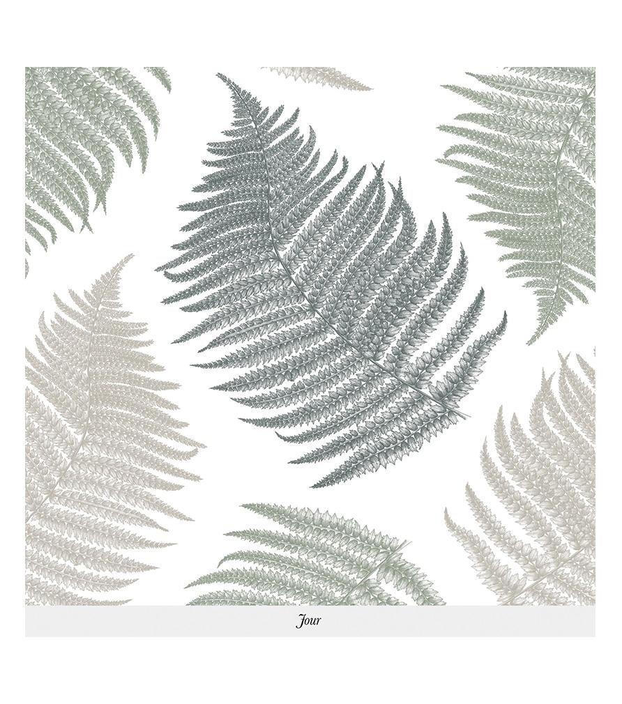 Papier peint FOUGÈRE - Isidore Leroy