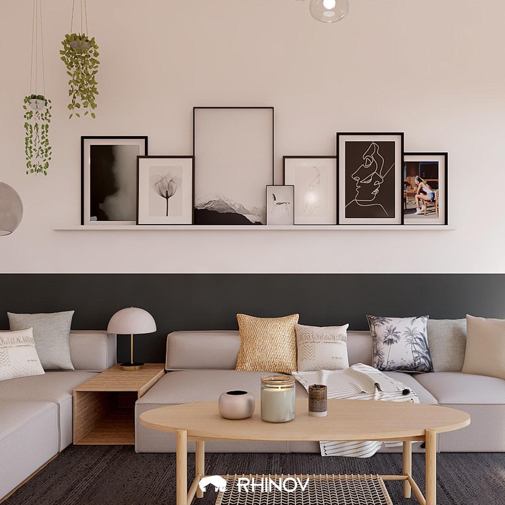 noir et blanc décoration