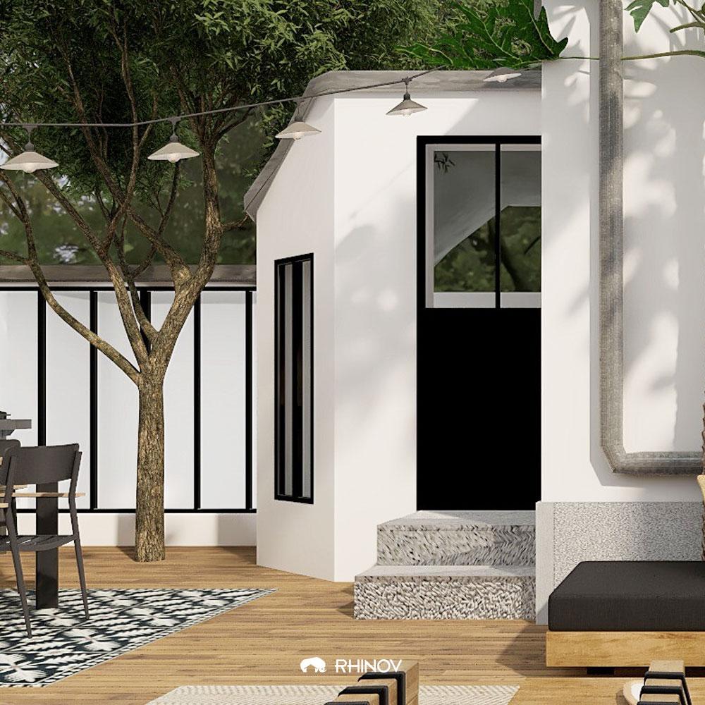 deco terrasse contemporaine