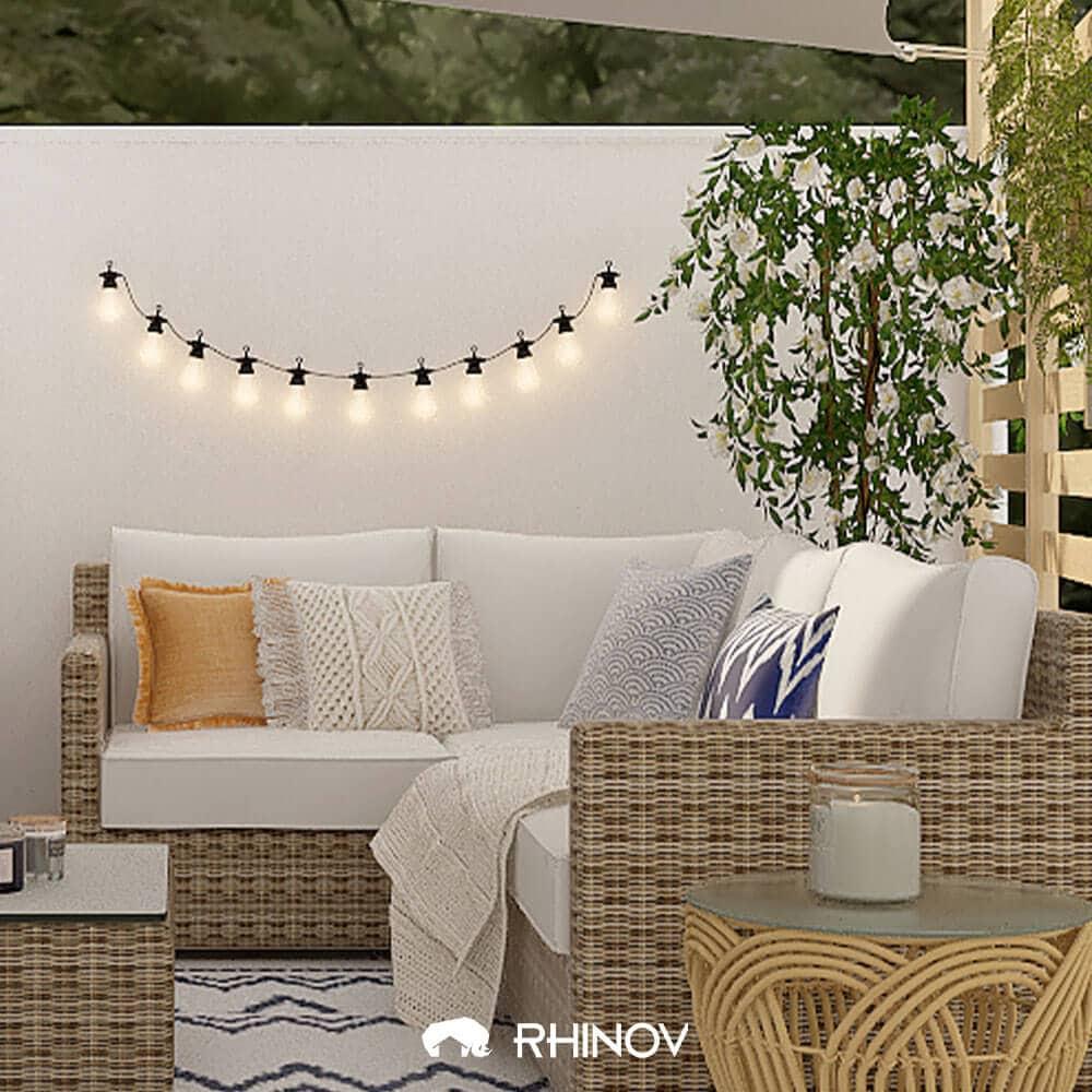 décoration balcon ethnique