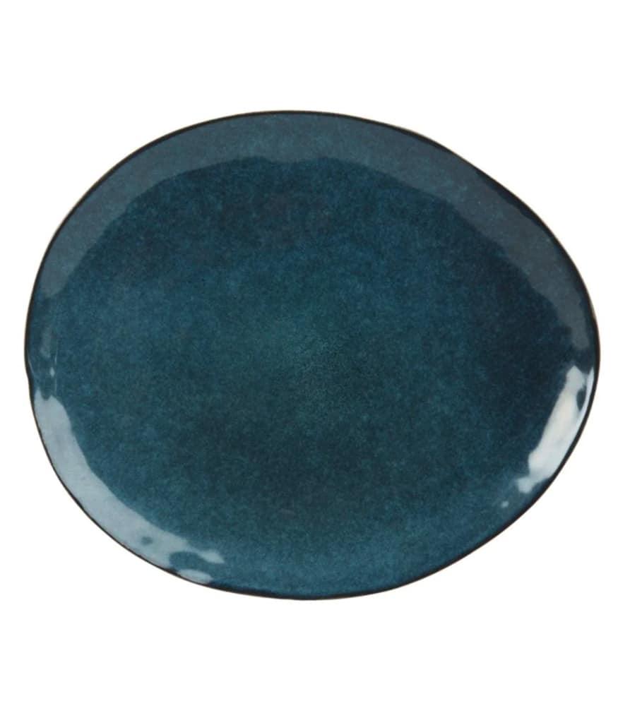 Assiette ASIAN BLUE