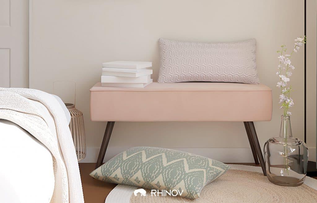 meuble scandinave pastel