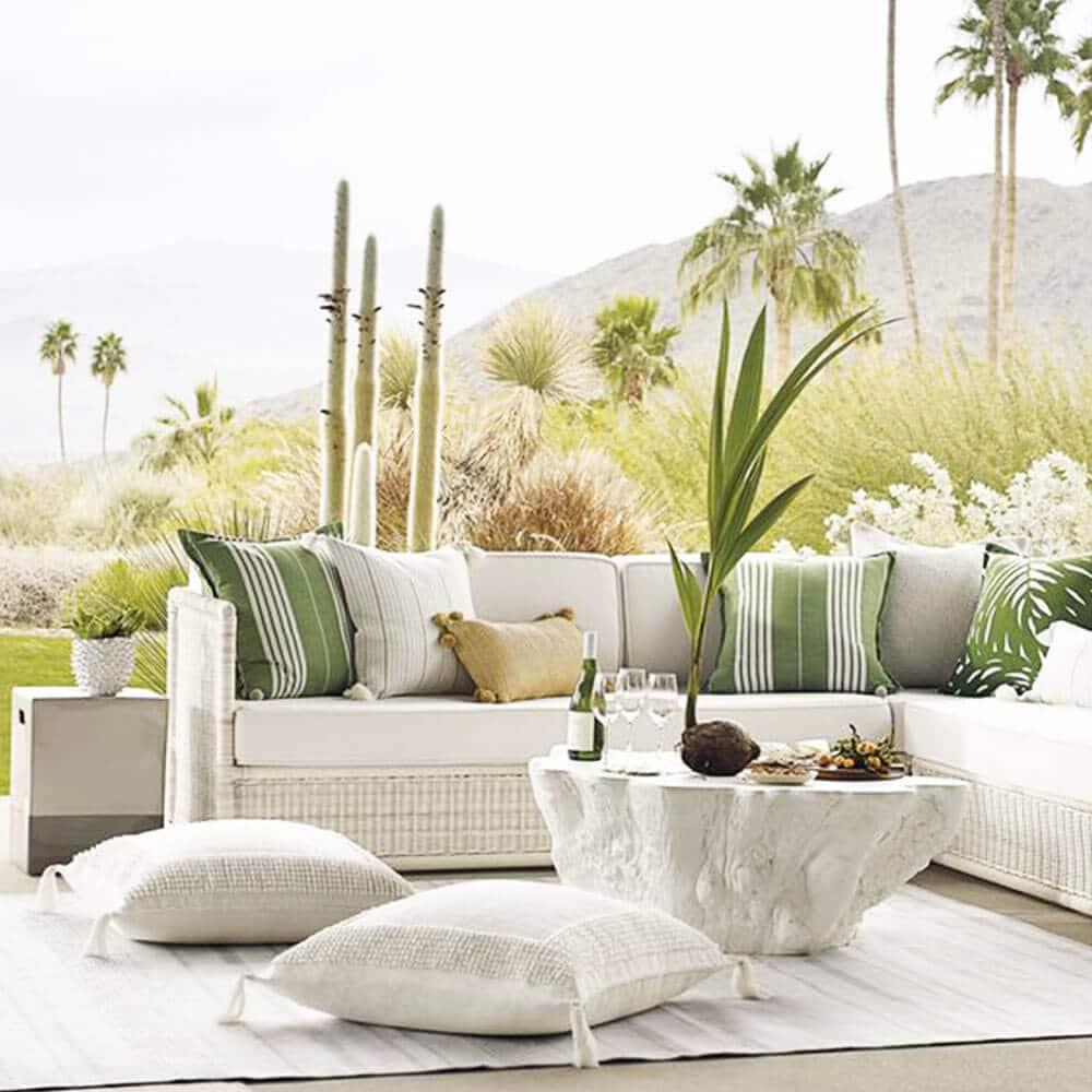 pinterest table en pierre jardin