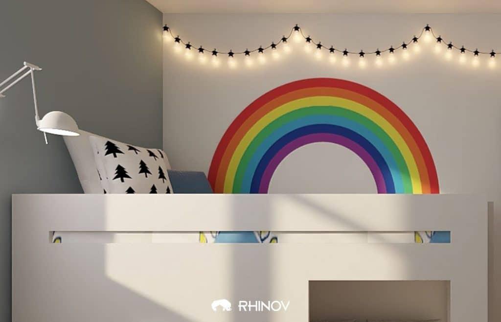aménagement chambre fille
