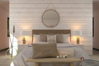 décoration chambre bord de mer
