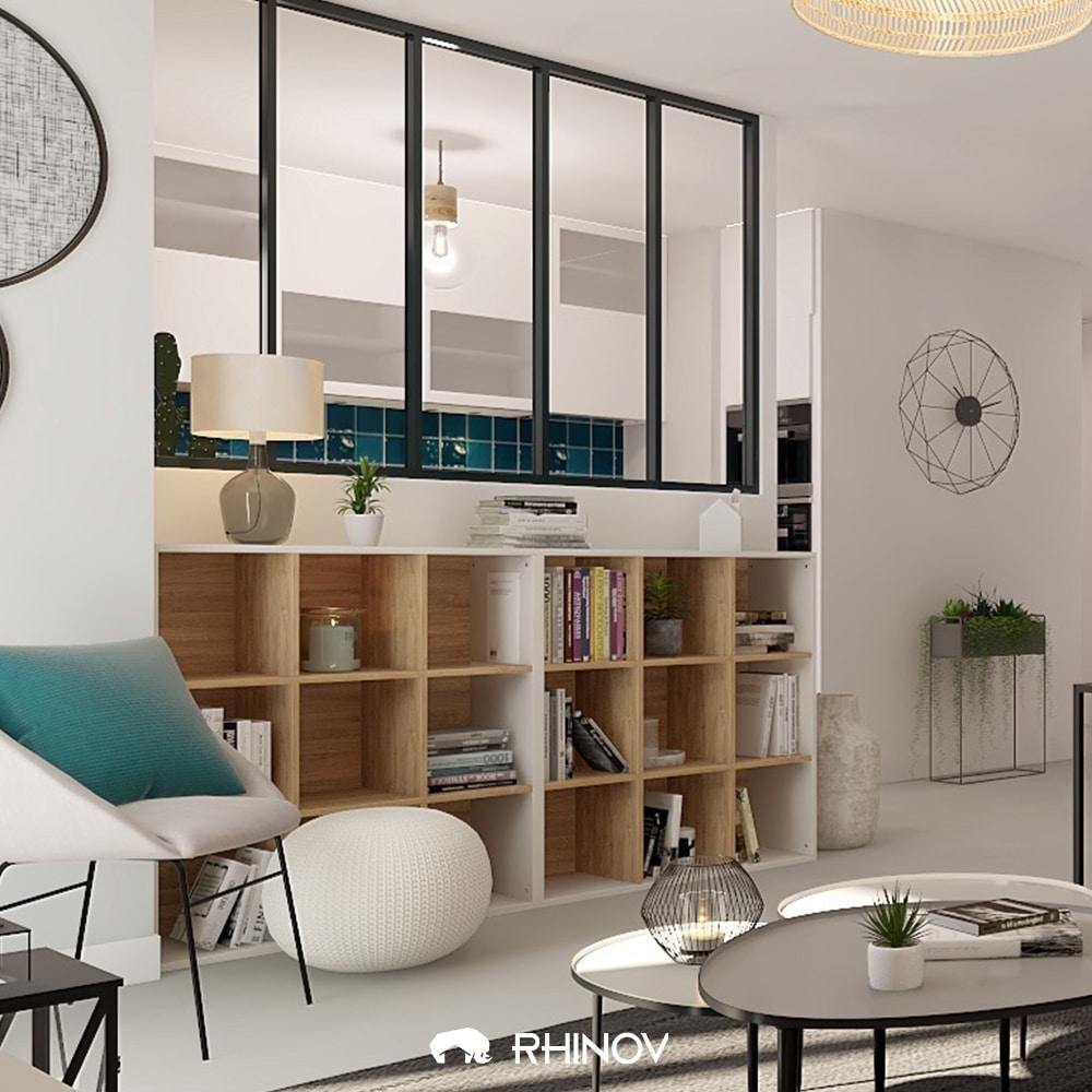 meuble à cases