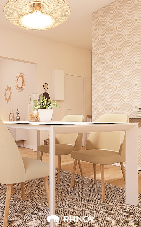table maison contemporaine