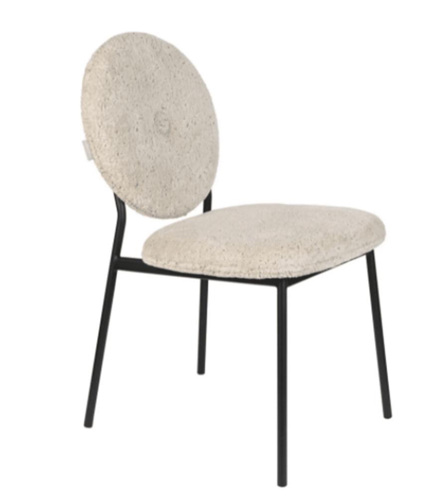 MIST - Chaise en laine bouclée