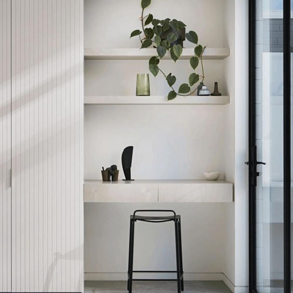 bureau sous escalier contemporain
