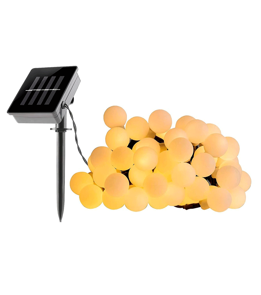 BILLY - Guirlande lumineuse solaire blanc