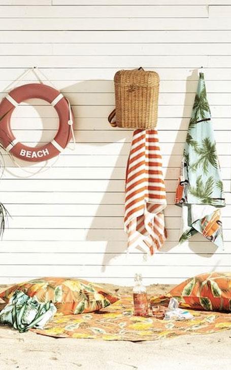 accroches pour serviettes maison de vacances décp