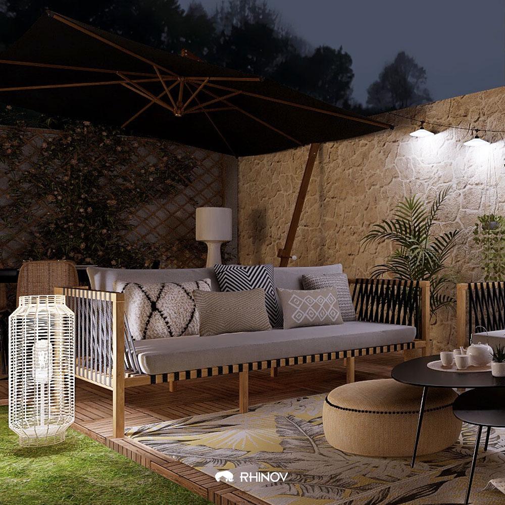 maison de vacances déco le jardin de nuit