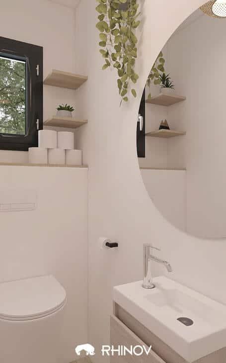 Idées peinture wc blancs