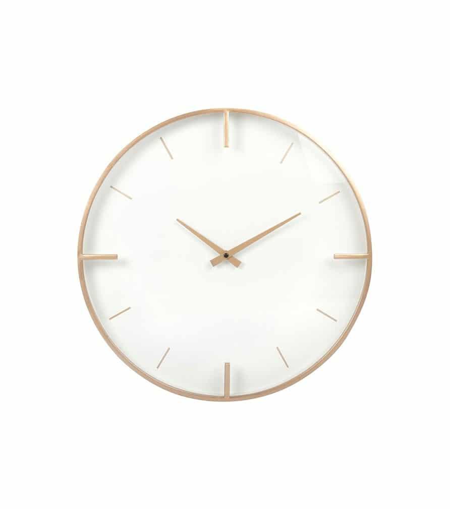 ELLIE - Horloge dorée et écrue en laiton