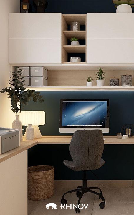 chaise ergonomique amenagement bureau cosy