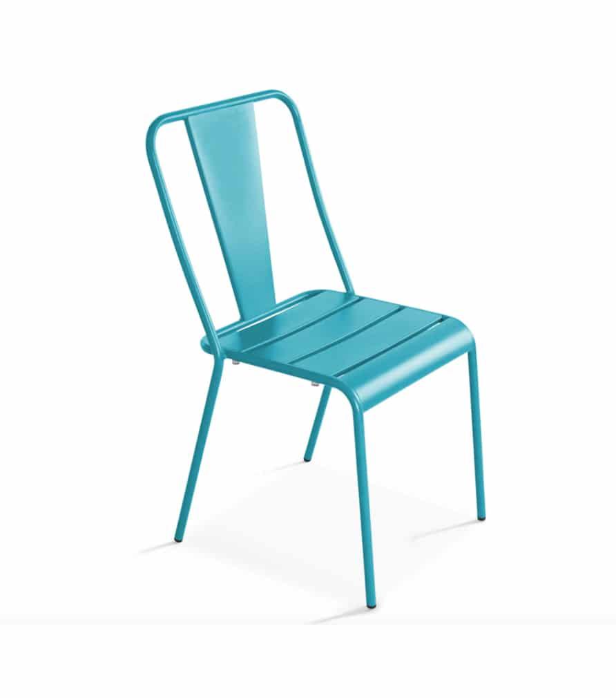 Chaise DIEPPE bleue