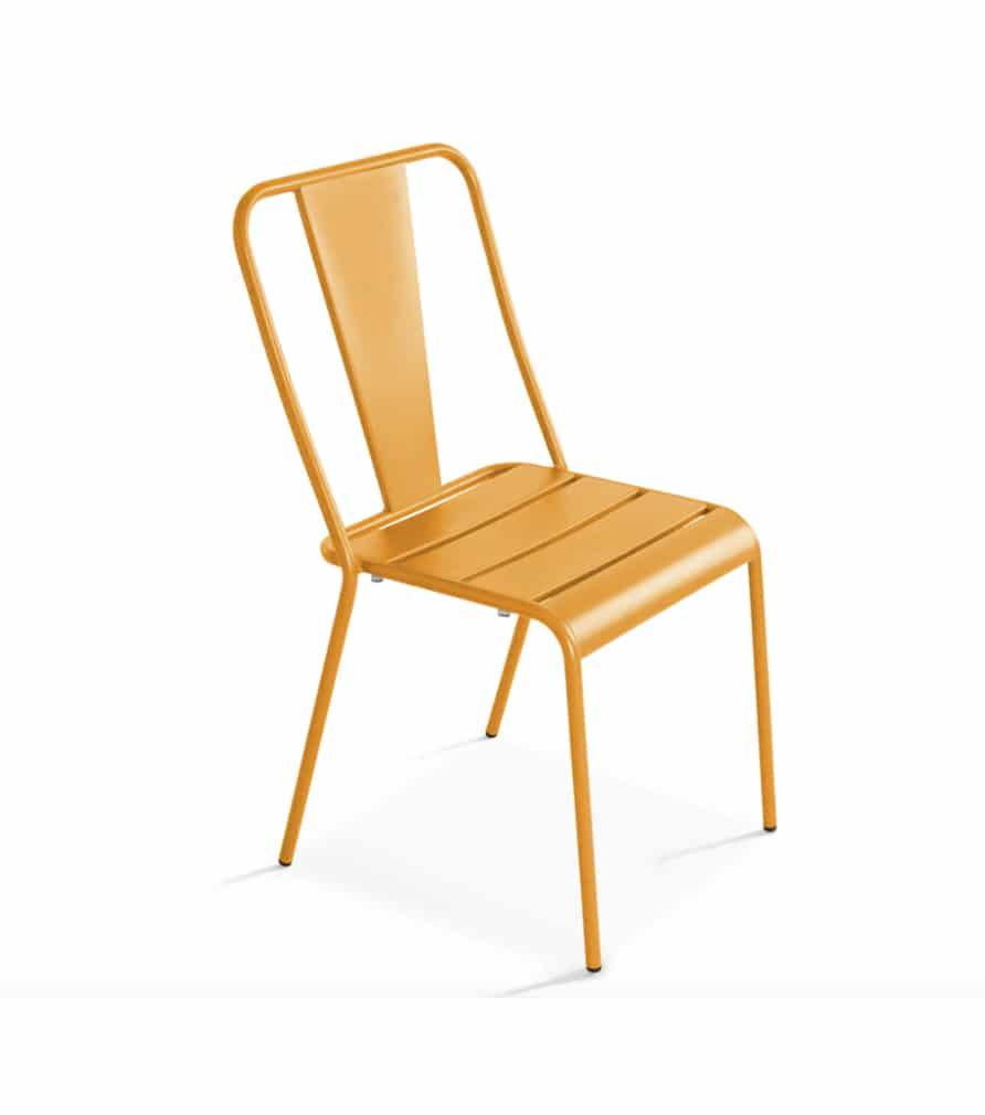 Chaise DIEPPE jaune